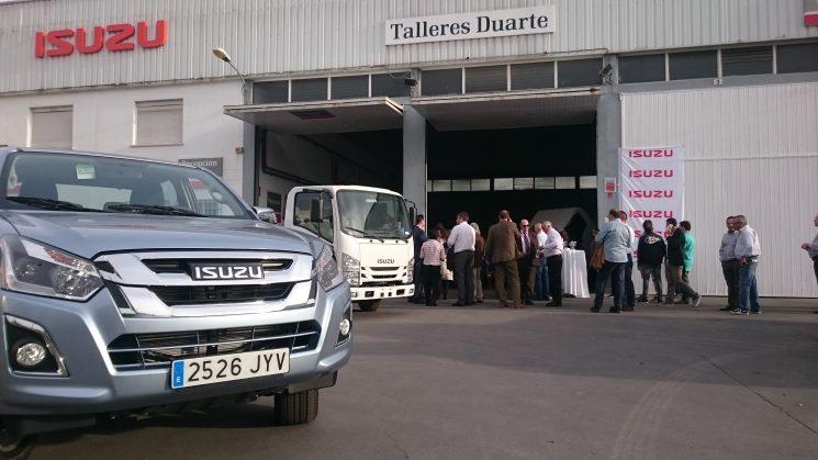 Inauguración del concesionario de Isuzu Duarte Trucks