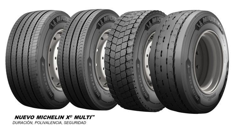 Nueva generación de neumáticos Michelin X Multi, más duración y polivalencia.