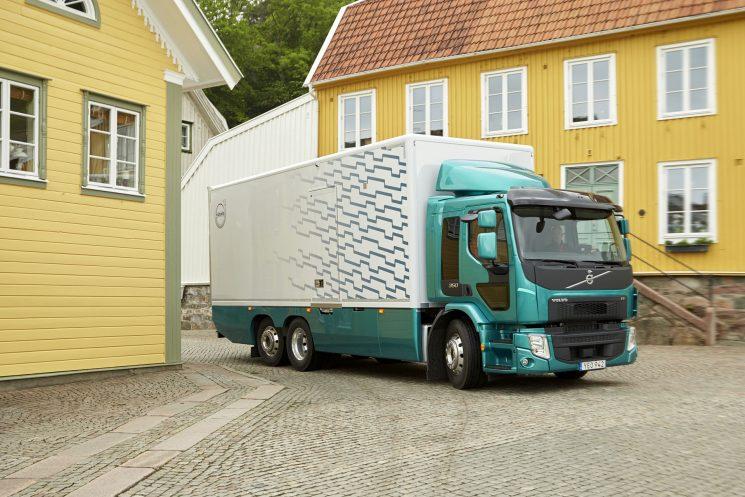 Nuevo Volvo FE de 350 CV con más capacidad de carga