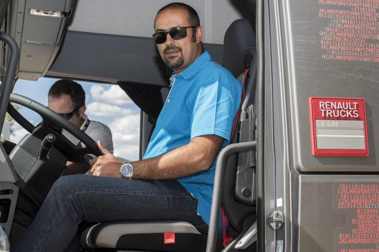 El ganador de la prensa del Desafío Otifuel de Renault Trucks ha sido Joaquín Pereira, probador de Fenadismer EN CARRETERA.