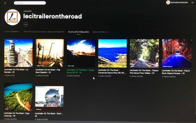 Lecitrailer lanza nuevos canales de música para profesionales de la carretera en Spotify