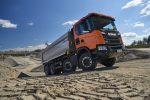Scania lanza la gama de construcción XT