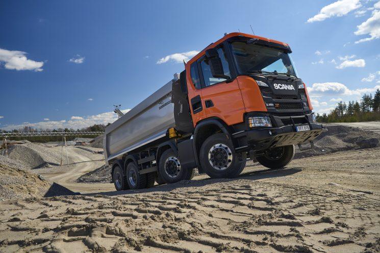 Scania lanza la nueva gama de construcción XT.