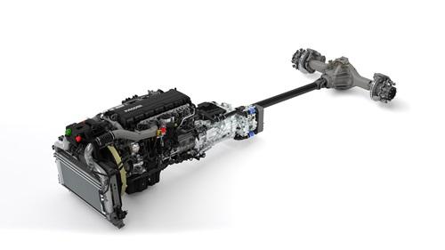 Nuevo motor PACCAR MX11 y nueva caja automatizada TraXon.