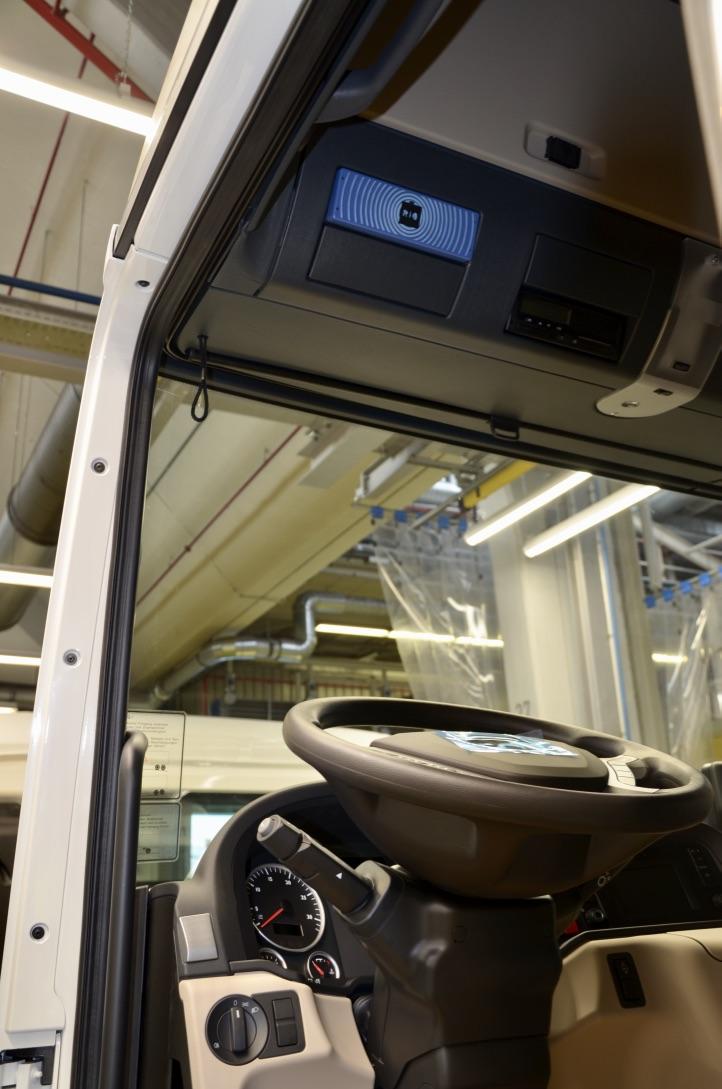 Los camiones Euo 6 de MAN de serie con la plataforma RIO Box.