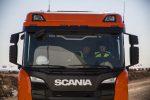 Los Hermanos Márquez prueban la gama nueva de construcción de Scania