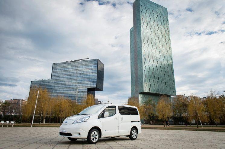 La e-NV200 de Nissan ahora con 100 km. más de autonomía.