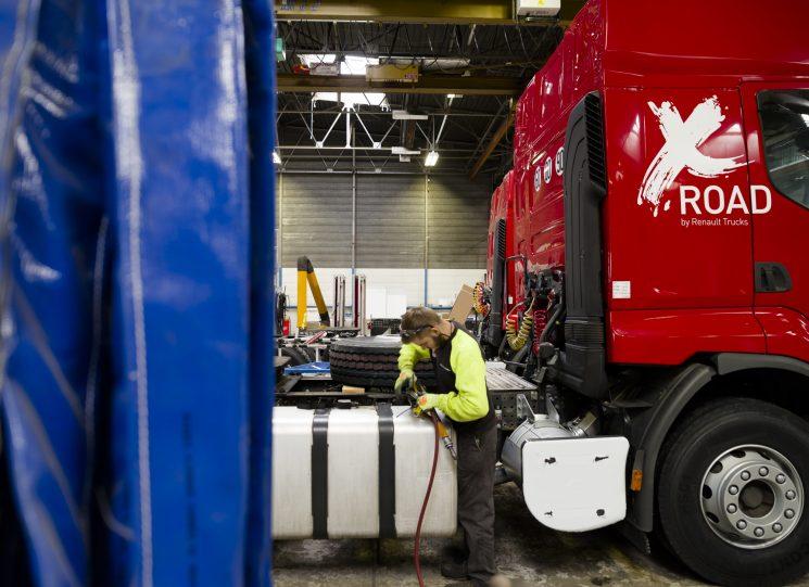 Renault Trucks ha establecido un taller de vehículos usados en su fábrica de Bourg-en-Bresse.