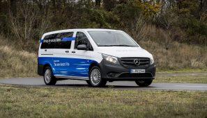 Mercedes-Benz ha presentado la eVito que se puede pedir ya y se empezará a entregar en el segundo semestre de 2018.