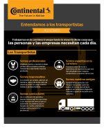 """Continental quiere que la sociedad """"Entienda a los Transportistas"""""""