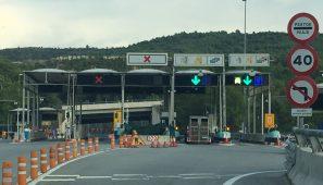 Acordadas las bonificaciones enlos peajes a los camiones por el desvío obligatorio a la AP1 entre Burgos y Miranda de Ebro.