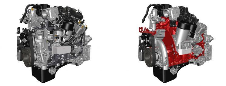 Renault Trucks fabrica un motor de camión con una impresora 3D.