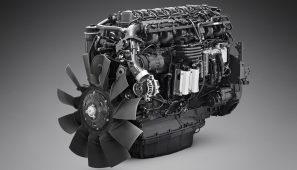 Scania presenta un nuevo motor de 13 litros y 410 CV propulsado por gas natural.