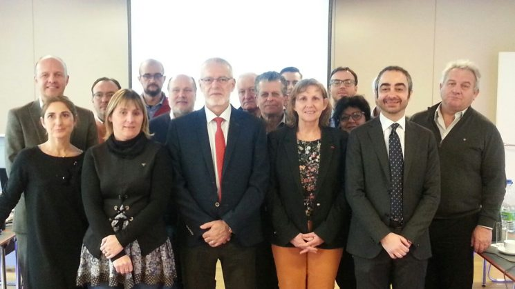 Julio Villaescusa será el nuevo presidente de la UETR, organización empresarial europea, los dos próximos años