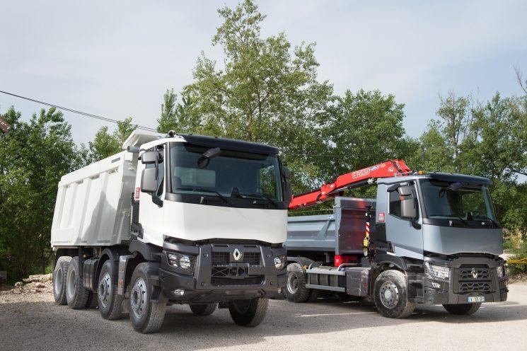 Caja automatizada Optidriver Xtended de Renault Trucks con marchas supercortas