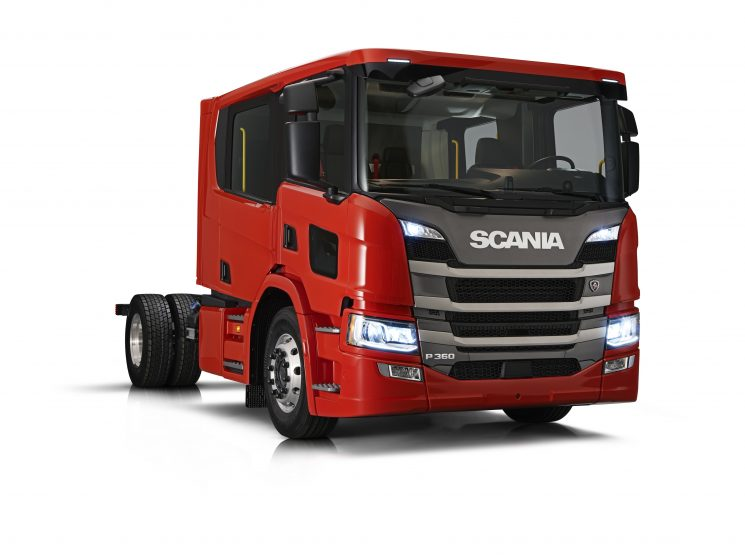 La doble cabina Scania CrewCab ha sido completamente renovada.