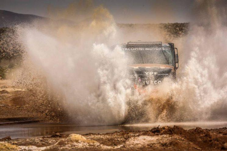 Suspendida la etapa 9 del Dakar 2018 por las malas condiciones climatológicas en el altiplano boliviano.