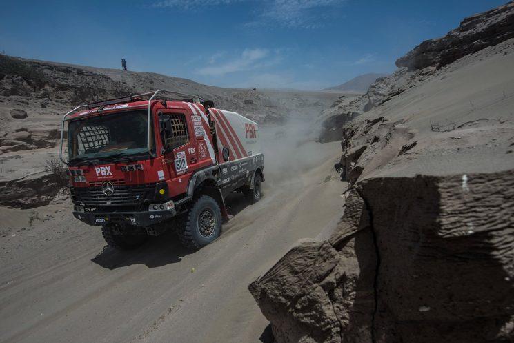 La quinta etapa del Dakar 2018 camiones consolida a Nikolaev en el liderato.