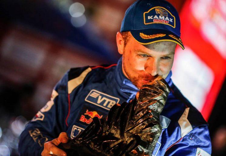 El ruso Eduard Nikolaev ha conseguido su tercer Dakar en camiones.