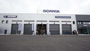Nuevas instalaciones de Scania Hispania en Málaga.