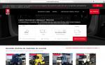 Renault Trucks pone en marcha una web exclusiva de usados