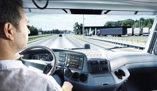 Tráfico inflexible en los desvíos de camiones a los peajes