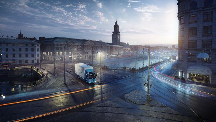 Volvo Trucks anuncia un FL totalmente eléctrico para 2019.