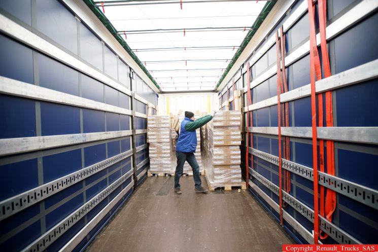 Inspección y sanciones por la inadecuada estiba de la mercancía en los vehículos de transporte.
