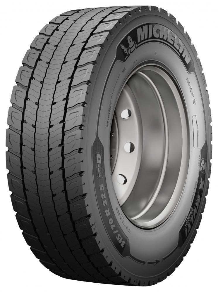 Michelin completa la gama X Multi con el neumático polivante para tráfico regional X Multi Energy.