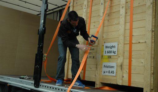 El responsable de la estiba de la carga es el cargador