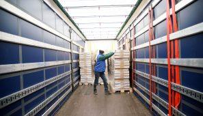 La DGT ya ha puesto 258 sanciones por la estiba de los camiones lo que ha causado mucho malestar en el sector.
