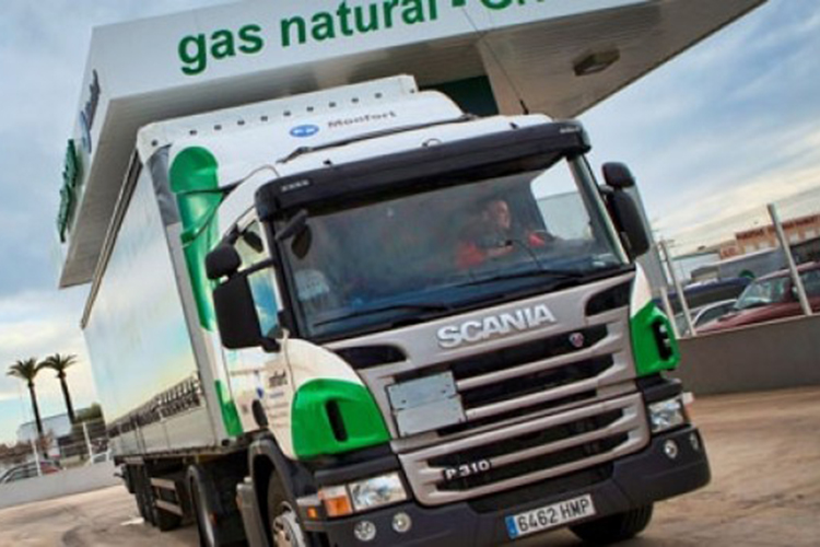 El gas natural como combustible para el transporte