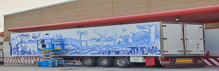 Truck Art Project, camiones con arte