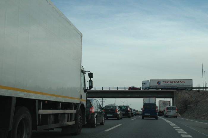 Las empresas deslocalizadas controlan una cuarta parte del transporte internacional español
