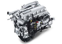 DAF presenta su motor Euro 6