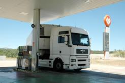Comunicación del gasóleo profesional consumido en 2012