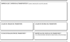 Fenadismer Madrid regala a sus asociados un talonario con el nuevo documento de control