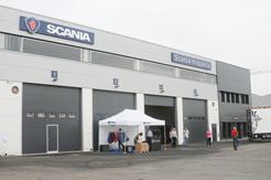 Scania inaugura instalaciones en Almería
