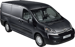 Toyota acaba de presentar su nueva furgoneta ProAce