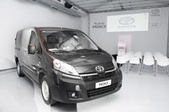 Triple garantía para la ProAce de Toyota