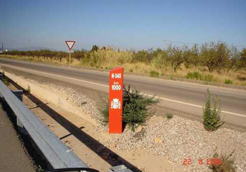 Próxima prohibición de circulación a camiones en la N-340 en Castellón