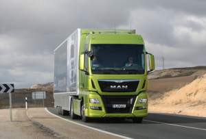 Prueba de camiones - MAN TGX 18480 Euro 6