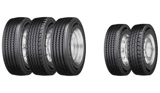 Neumáticos de invierno para todos los ejes de Continental