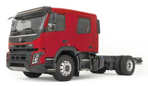 Volvo Trucks, cabina doble FL y FMX