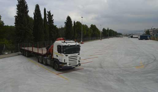 Aparcamiento de camiones - 2 5