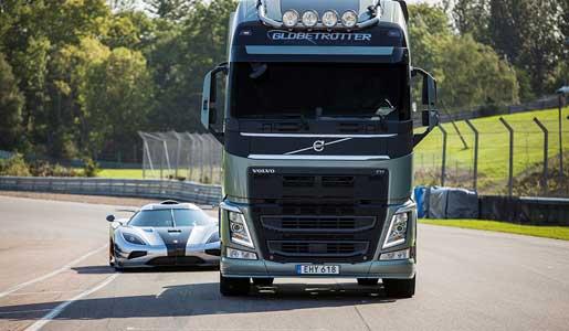 Volvo FH vs Koenigsegg One