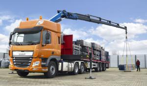 Nuevas tractoras DAF con eje arrastrado director