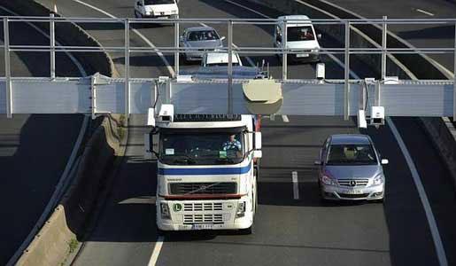 Peaje para camiones