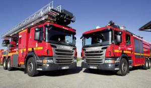 Vehículos especiales de Scania