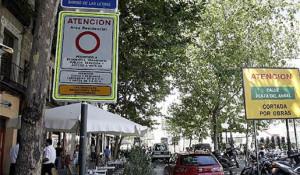 Autorizaciones especiales a los camiones en Madrid